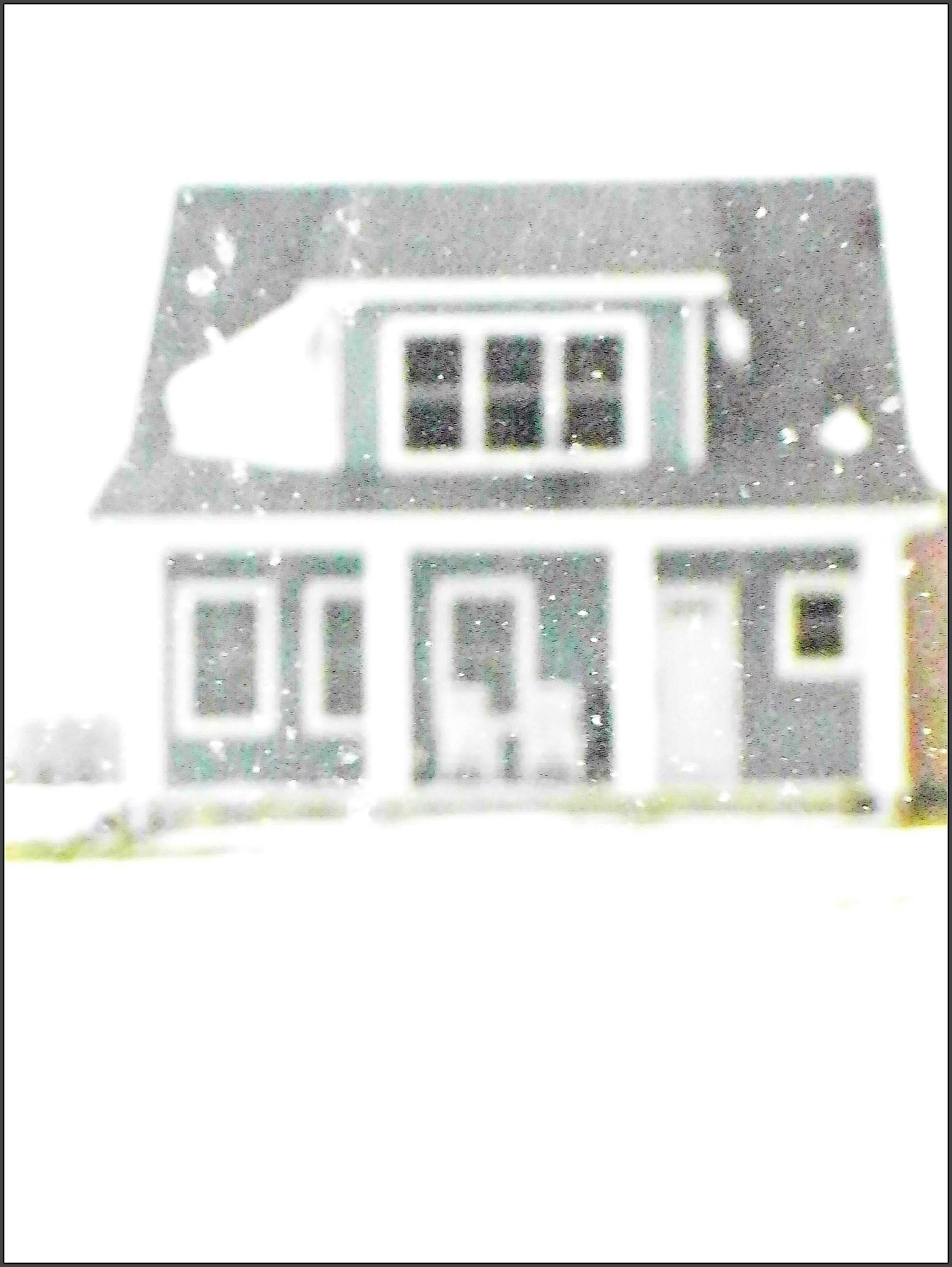 House in the Snow jan 28